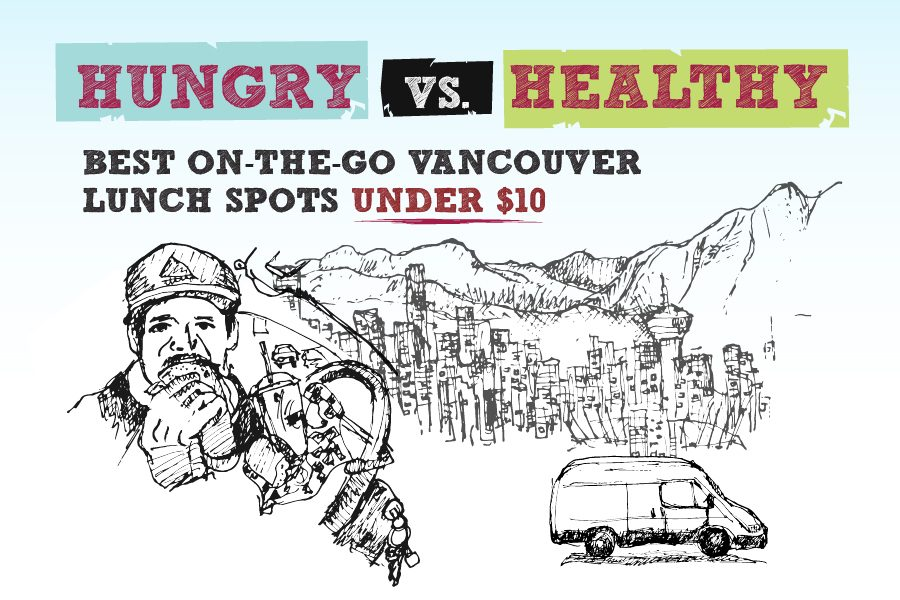 Vancouver Lunch Spots for When You're on the Run