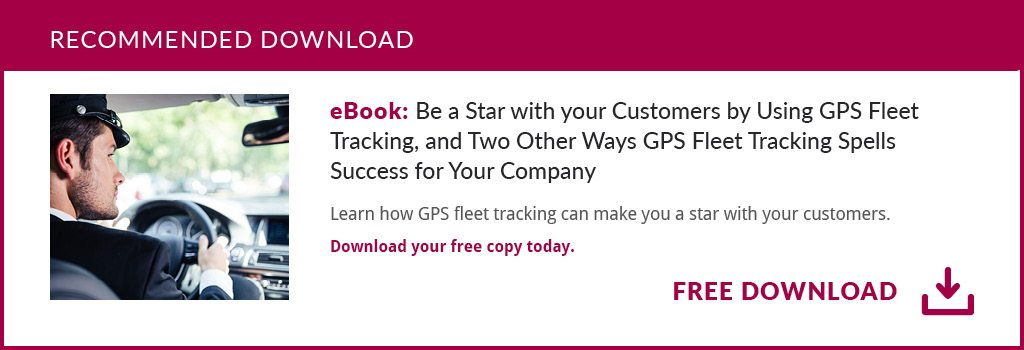 Be a Star With Your Customers By Using GPS Fleet Tracking eBook: mid post CTA