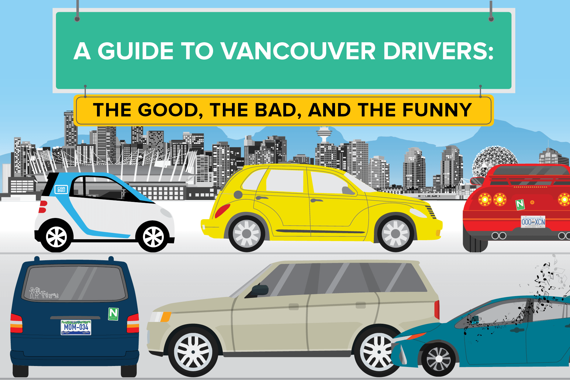 Vancouver Drivers: The Good and the Bad [with Infographic]
