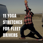 11 Yoga Stretches for Fleet Drivers