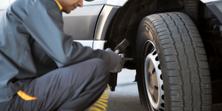 Safe Fleet Driving Tips: Check Your Tire Pressure
