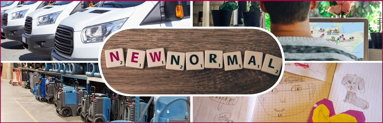 New Normal Activities Collage