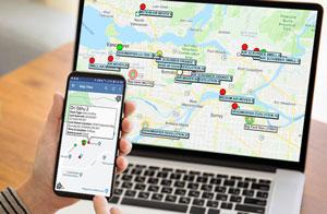 Asset Tracking on Desktop and Mobile